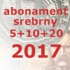 Abonament srebrny NBP 2017 (mini)