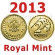2 gr 2013 Royal Mint