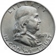 Franklin half dollar 1949