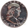 Franklin half dollar 1961 proof